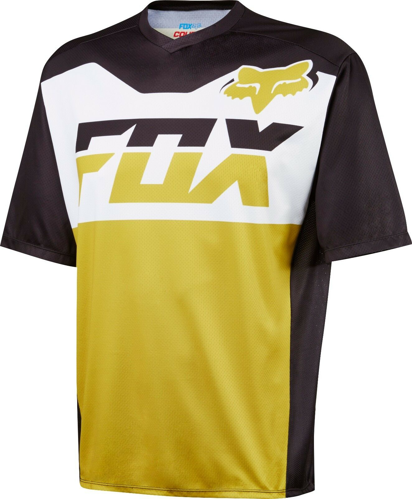 Fox Racing Coverde ss Jersey oro
