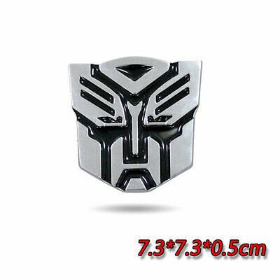 "2.75/"" MEDIUM 3D TRANSFORMERS DECEPTICON  EMBLEM FIT CHEVY DODGE FORD HUMMER JEEP"