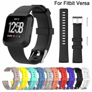 Smart-Band-Replacement-Wristband-Wrist-Strap-Silicone-Bracelet-For-Fitbit-Versa
