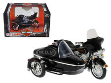 1998 HARLEY DAVIDSON FLHT ELECTRA GLIDE SIDE CAR 1/18 MOTORCYCLE BY MAISTO 76400