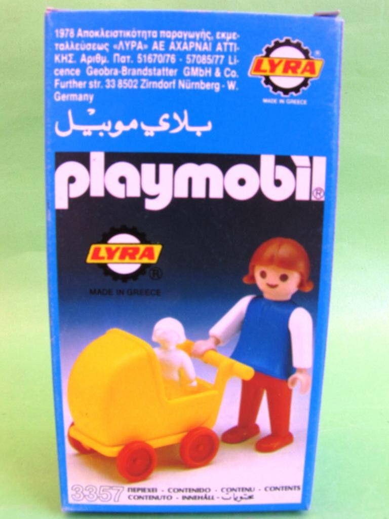 Rare Playmobil Playing Girl 3357  Lyra 1976 MISB OVP W.Germany