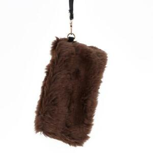 Image is loading 1Pc-Stylish-Womens-Lady-Fluffy-Feather-Clutch-Bag- 1f79720237311