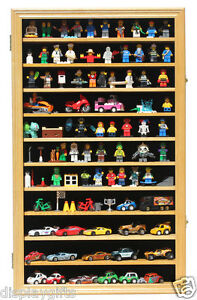 Hot-Wheels-1-64-Scale-Minifigure-Display-Case-Wall-Cabinet-HW11-OA