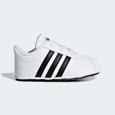 ADIDAS VL COURT 2.0 CRIB F36605 infant sneakers scarpe