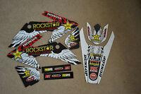 Team Rockstar Honda Graphics Honda 2008-2014 Crf150 Crf230 Crf150f Crf230f Crf