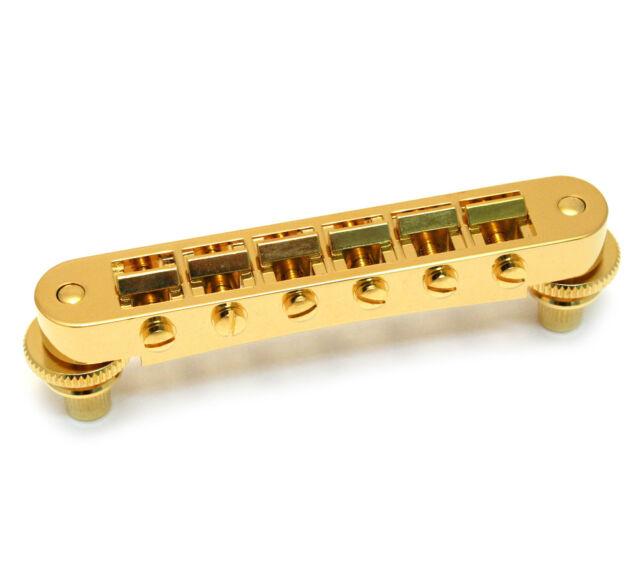 Grover Gold Nashville Tune-O-Matic Bridge for USA Gibson Les Paul/SG® 520G