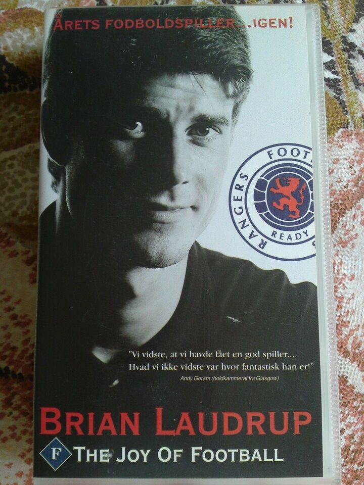 Dokumentar, Brian laudrup - the joy of football
