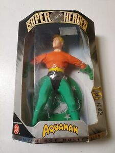 Super-Heros-Aquaman-Action-Figure-Silver-Age-Collection-DC-Arthur-Curry-NIB