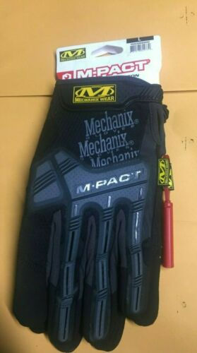 Mechanix Wear M-Pact Impact Resistant Gloves Large great for Motorcycle riding