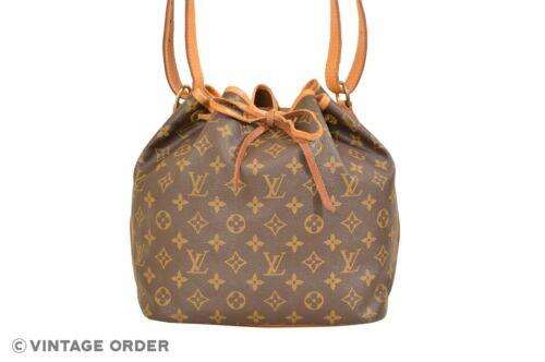 Louis Vuitton Monogram Petit Noe Shoulder Bag M422