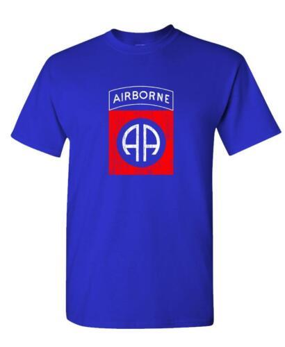 Unisex Cotton T-Shirt 82ND AIRBORNE