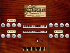 Virtual reed organ for Hauptwerk Estey Style T 10 ranks/2 manual and pedal