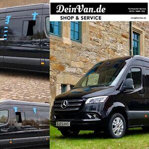 DeinVan Seitenscheibe Schiebefenster Fenster für Mercedes Benz Sprinter W907