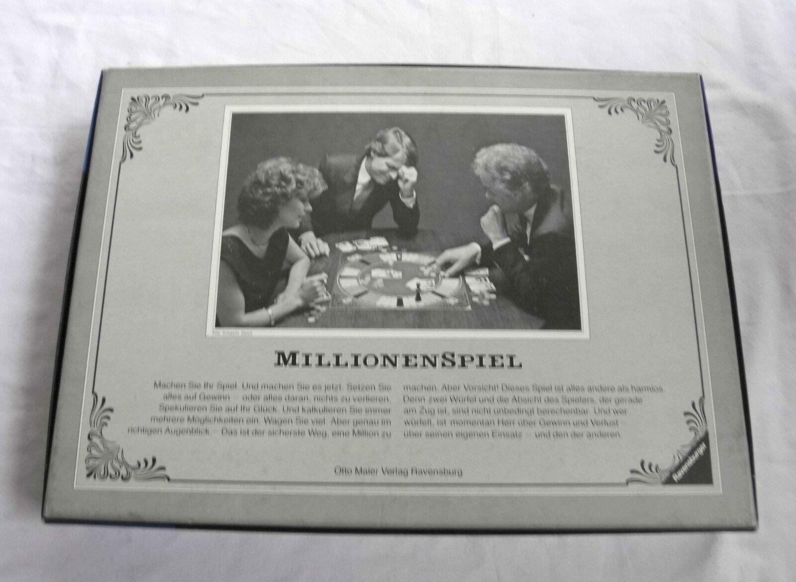 Millionenspiel von - Altes Würfelspiel   Brettspiel von Millionenspiel Ravensburger (1982) c7b926