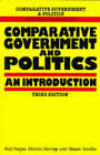 Comparative Government and Politics: An Introduction by Shaun Breslin, Rod Hague, Martin Harrop (Paperback, 1992)