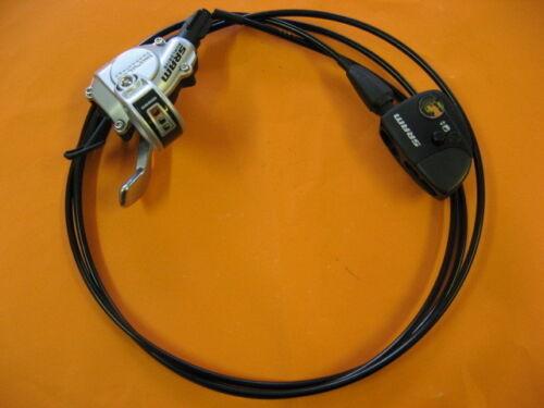 SRAM DUAL DRIVE Schalthebel Trigger 3-fach links mit Zug und Klickbox NEU
