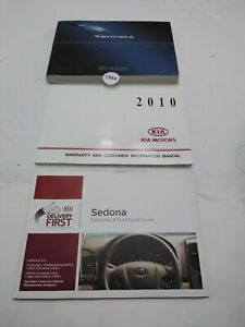 2010 Kia Sedona Owner's Manual