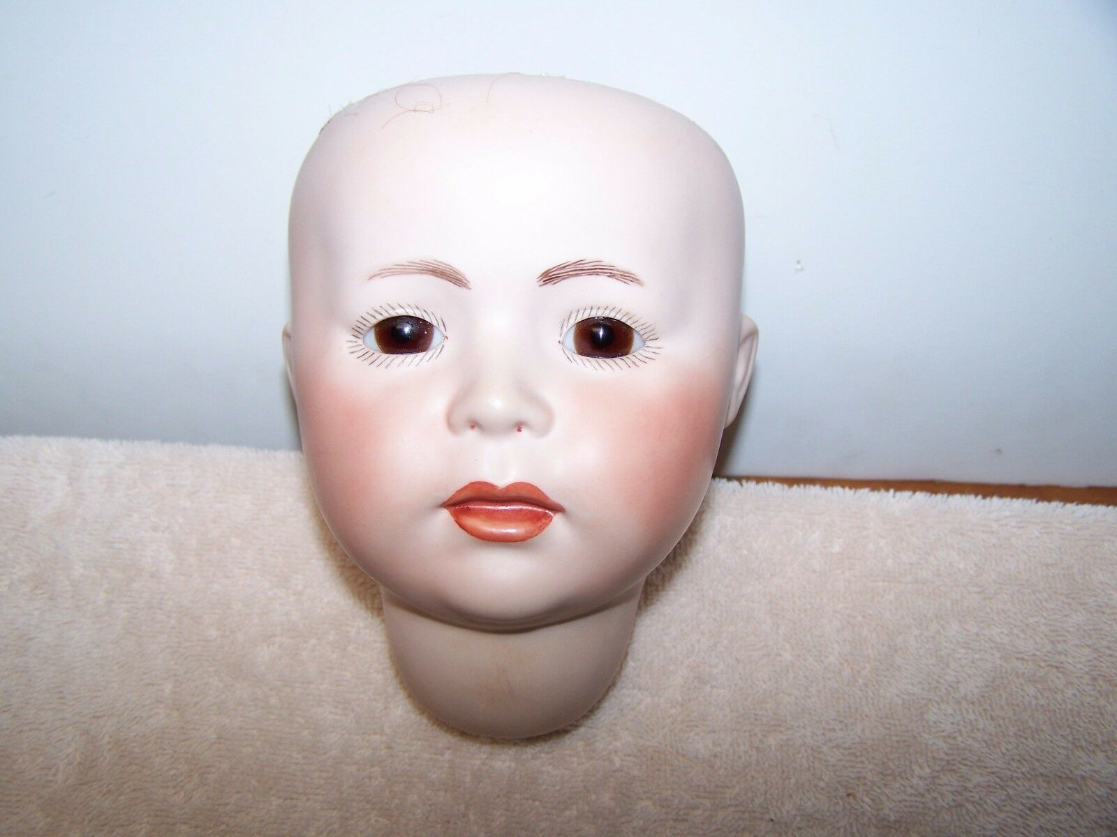 Antique Reproduction  Doll Making Simon & Halbig 1488 Marronee Glass Eyes ( 15 )
