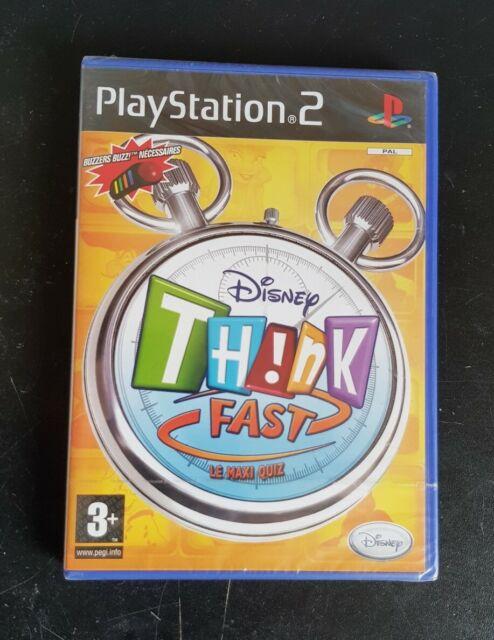 Disney Think Fast - PS2 Neuf