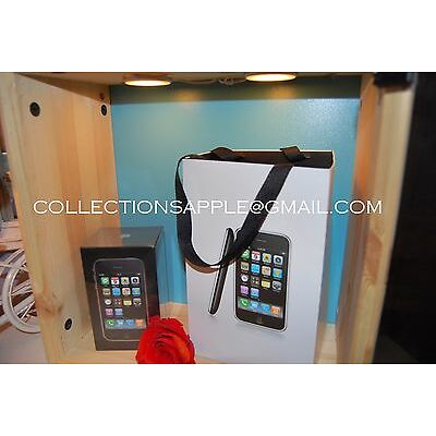 Apple iPhone 3G 8GB Black SEALED Onopened Smartphone NEW Collection