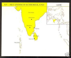 Maldives Asia Map.Map Card India Ceylon Sri Lanka Maldives Asia Ebay