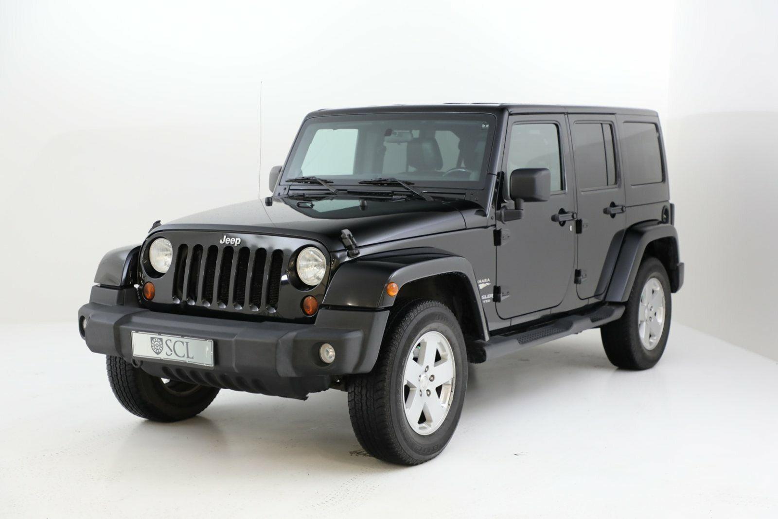 Jeep Wrangler Unlimited 3,8 Sahara aut. 5d
