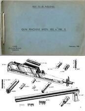 Bren 1942 MKII .303 Light Machine Gun Parts Book (UK)