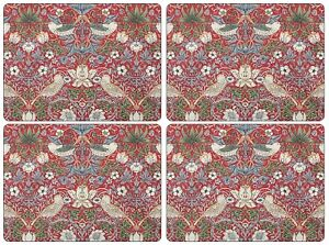Pimpernel-William-Morris-Strawberry-Thief-Red-Placemats-Set-of-4