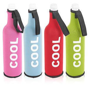 Image Is Loading Neoprene Insulated Zip Up Water Bottle Cooler Bag