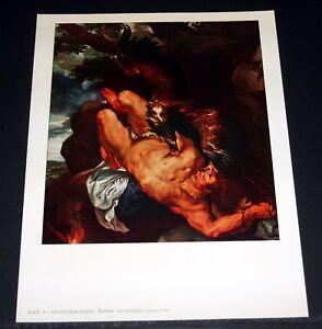 Rubens Prometheus Bound Extra Large Art Poster