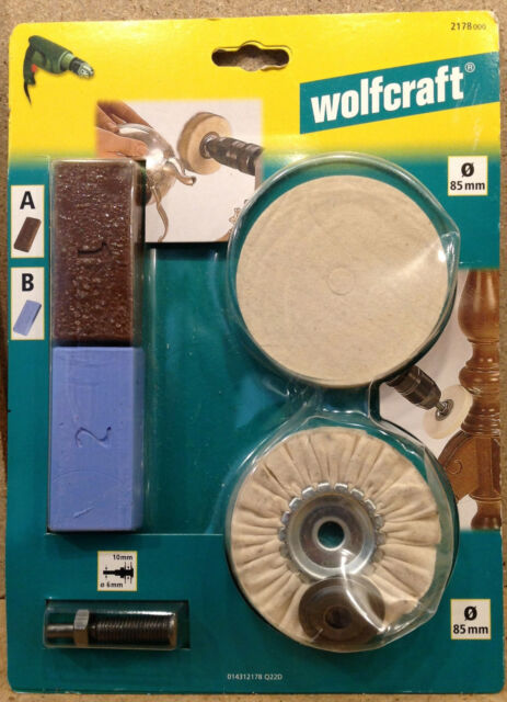 Wolfcraft Hobby - Polierset  2178000
