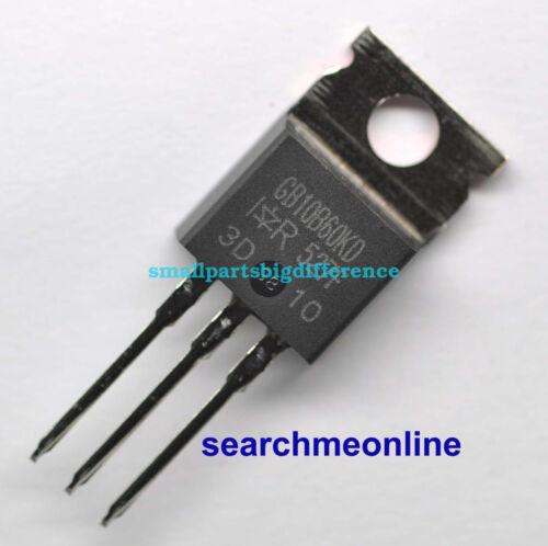 5pcs//10pcs IRGB10B60KD TO-220 IR New And Genuine Transistor GB10B60KD