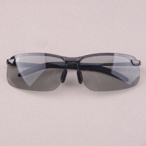UV400 Men Polarized Photochromic Transition Lens Sunglasses Driving Glasses Cool