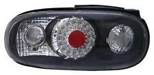 Back Rear Tail Lights For Mazda Mx5 Na -3/98 LED-Ring Clear Black Pair LHD