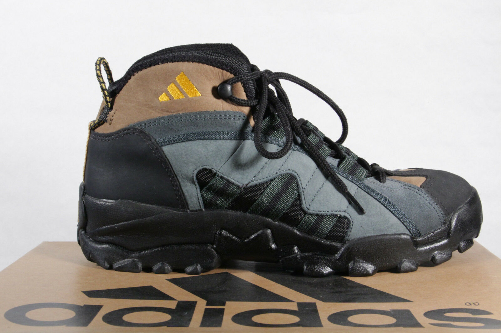 Adidas Herren Wanderstiefel 078433A3 A3 Leder grün/braun/schwarz  078433A3 Wanderstiefel  Neu!! 0e344e