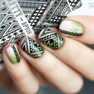 Born Pretty Water Decal Straight Line Nail Art Transfer Sticker