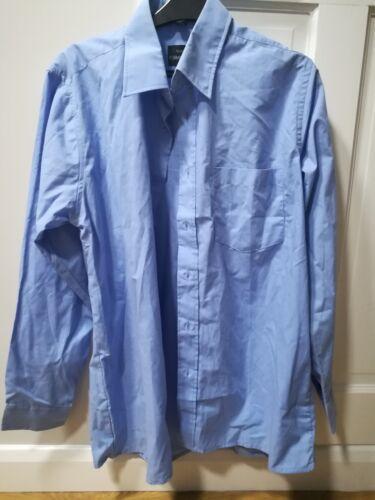 Shirt Blue Men's Size Quality 16