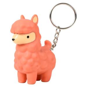 Pooping Alpaca Keychain