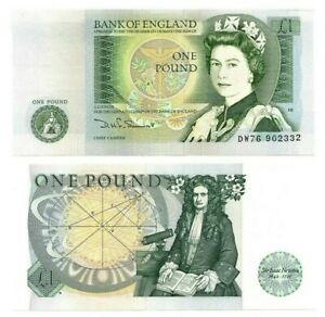 ENGLAND £1 Pound (1978) ND P-377b Sig. Somerset UNC Banknote Paper Money