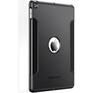SaharaCase-Classic-Case-Glass-Screen-Protector-for-iPad-9-7-034-2017-18-Black