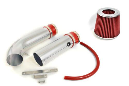 RED 05 06-10 DODGE CHARGER// MAGNUM// CHRYSLER 300 2.7 2.7L V6 AIR INTAKE KIT 2P