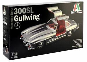 Italeri 1/16 Mercedes-benz 300sl Gullwing # 3612 8001283036122