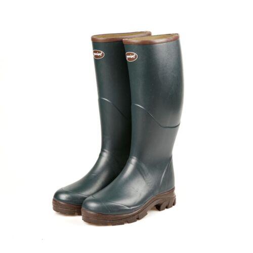 Gumleaf W1 Saxon caoutchouc naturel fait main wellington boot