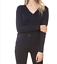 Woman-Soft-Long-Sleeve-Solid-Open-V-Front-Sweater-Cardigan-S-3XL miniatura 16