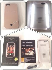 los angeles 28d13 73005 Details about NEW LuMee Original Back Lighting Illuminating Case for iPhone  6 Plus - Rose Gold