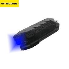 NITECORE Tube BL Blue LED USB Rechargeable Keychain Flashlight
