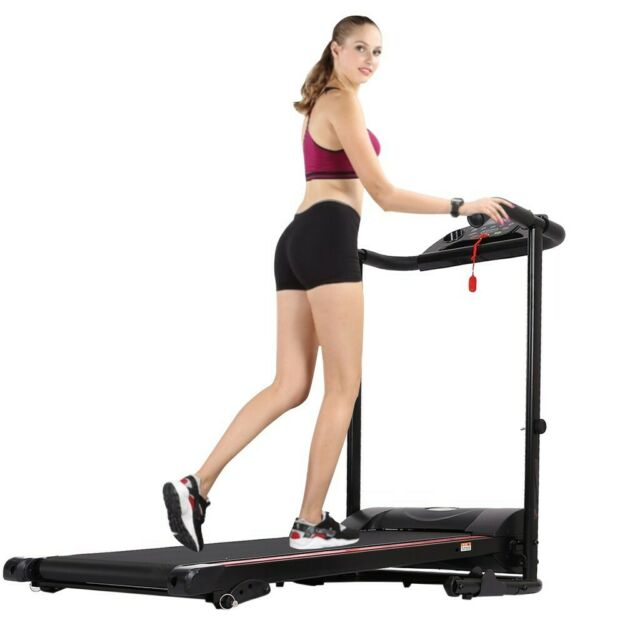1100W Treadmill Electric Motorized Foldable Jogging Machine Workout Gym 12MPH US