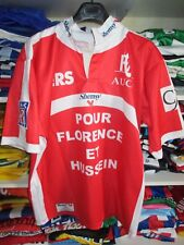 Maillot rugby AUCH Stock Pro LNR patch vintage 2005 collector shirt L Shemsy
