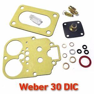 Weber-30-DIC-service-set-gasket-repair-kit-FIAT-850