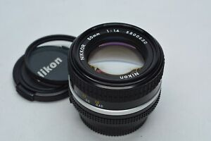 [Mint] Nikon AiS Nikkor 50mm f/1.4 1:4 MF Manuell Fokus Linse aus Japan